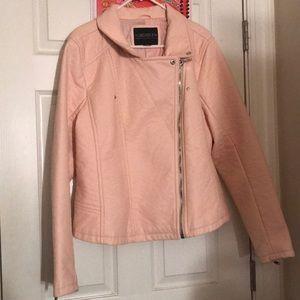 Pink Moto Jacket Plus